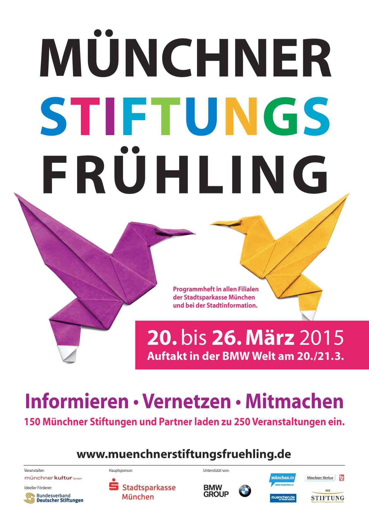 MünchnerStiftungsFrühling | 20.-26. März